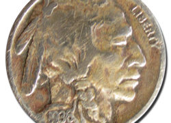 (044) Indian Chief Buffalo Nickel