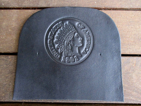 Indian Head Penny (Black)-039