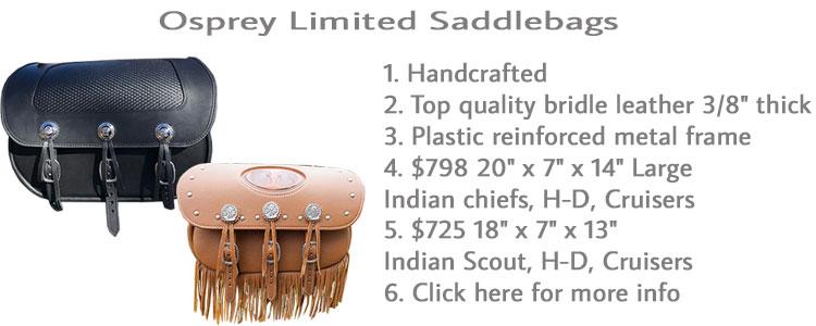 Osprey Limited Saddlebags